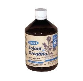 Olej sojowy & oregano 500 ml